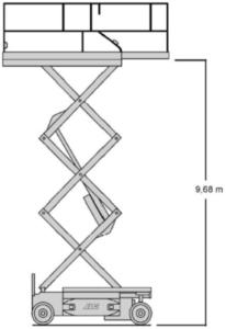 JLG saxlift 12m